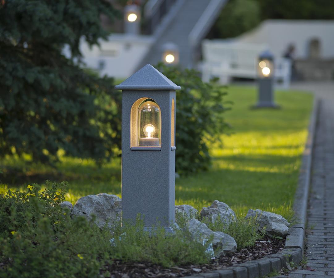 Park Beleuchtung Garten Outdoor Leuchte Keramik