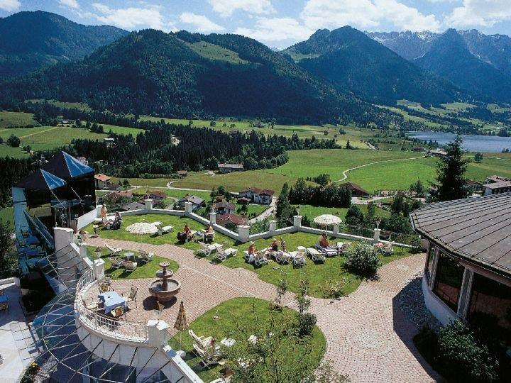 Außenansicht_Hotel Panorama in Kössen/Tirol