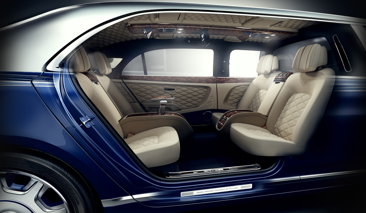 bentley mulsanne grand limousine mulliner luxuslimousine modell modelle