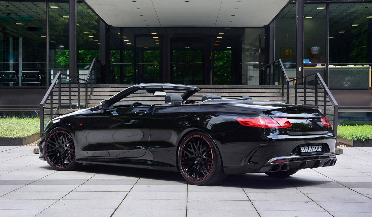 brabus mercedes modell modelle achtzylinder cabrio cabriolet luxus high performance