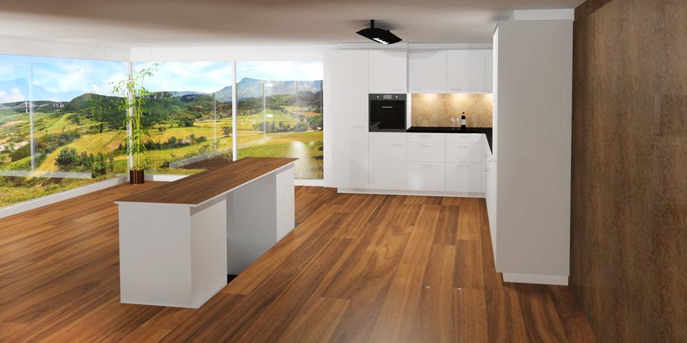 die versenkbare k che von adora design proudmag. Black Bedroom Furniture Sets. Home Design Ideas