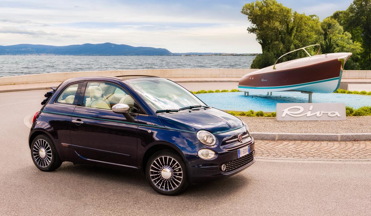 fiat 500 riva sondermodell limitiert cabrios cabriolet motorisierung ausstattung modelle