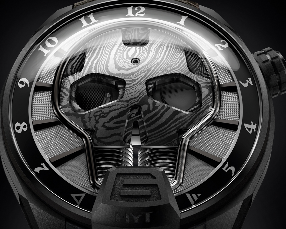 luxusuhr luxusuhren schweiz swiss made uhrenmodelle schwarz hyt audemars piguet limitiert