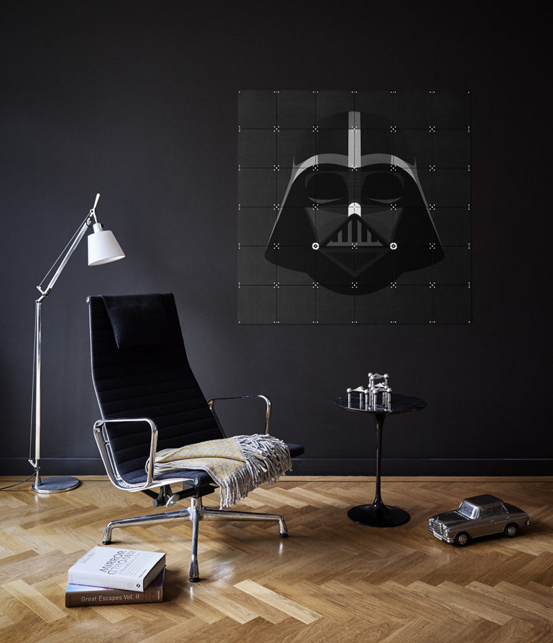 Darthvader Starwars doubleprinted Wanddekoration IXXI