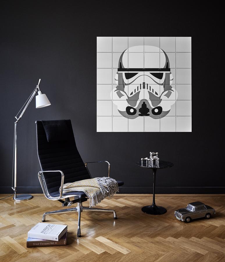 Starwars Wanddekoration Darthvader Einrichten IXXI