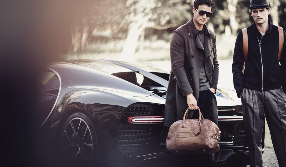 giorgio armani bugatti luxus limitiert accessoires leder lederwaren herren herbstmode wintermode 2016