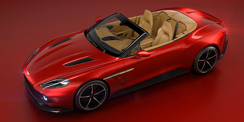 aston martin vanquish zagato volante sportwagen cabrio cabriolet limitiert sonderedition supersportwagen