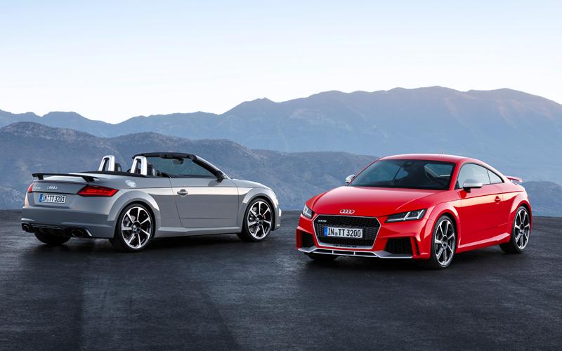audi tt rs coupe roadster modelle preise neu neuheit motor sport quattro innenraum