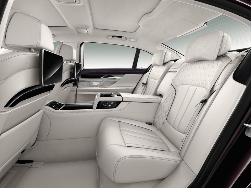 bmw m760li xdrive topmodell topmodelle limousine luxuslimousine luxuslimousinen innenraum interieur