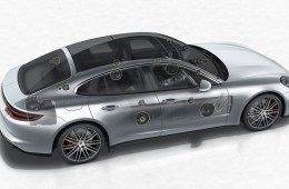 porsche panamera high end surround sound system audioanlage lautsprecher burmester turbo
