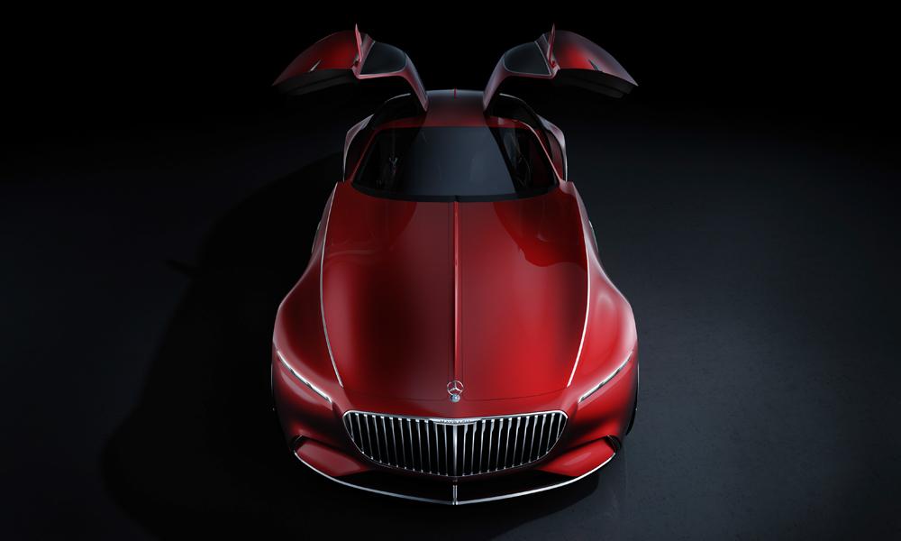 mercedes-benz mercedes maybach 6 designstudie automobile luxusklasse coupe elektroauto zukunftsvision pebble beach concours delegance