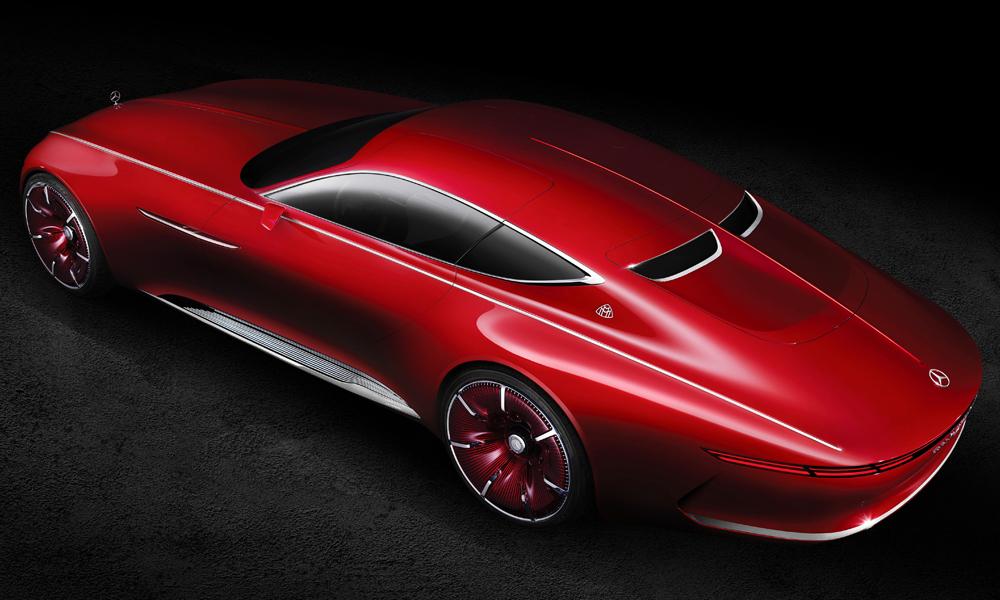 mercedes-benz mercedes maybach 6 designstudie automobile luxusklasse coupe elektroauto zukunftsvision luxuslimousine