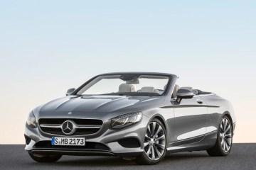 mercedes-benz cabrio cabriolet modelle modell 2016 neuheiten luxus s-klasse