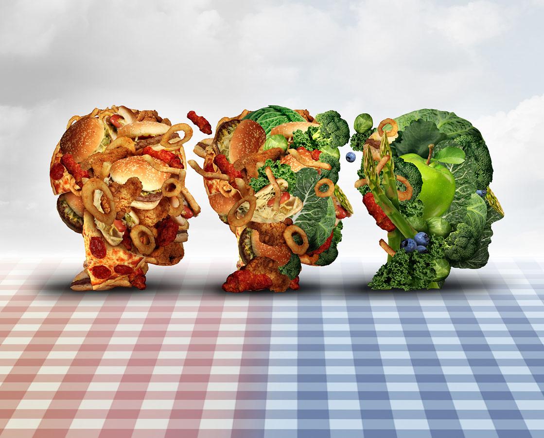 Detox transition fastfood greed food