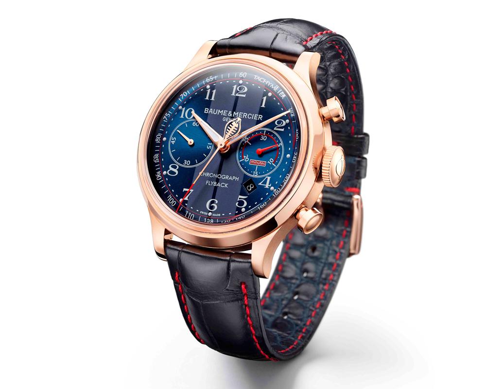 baume & mercier uhr uhren luxusuhren luxusuhr limitiert limitierte chronograph
