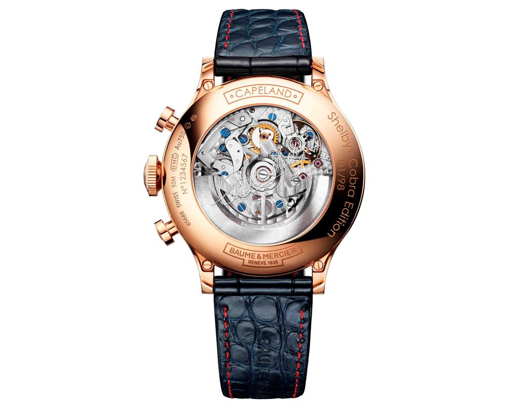 baume & mercier uhr uhren luxusuhren luxusuhr limitiert limitierte chronograph gold