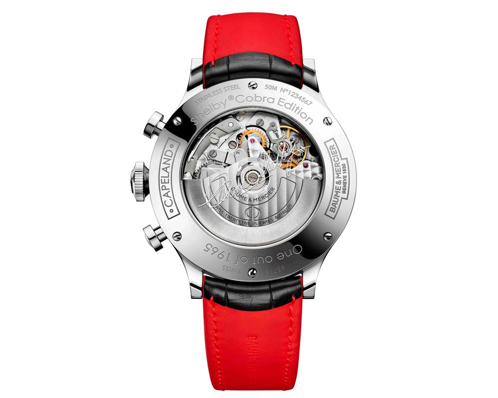 baume & mercier uhr uhren luxusuhren luxusuhr limitiert limitierte chronographen