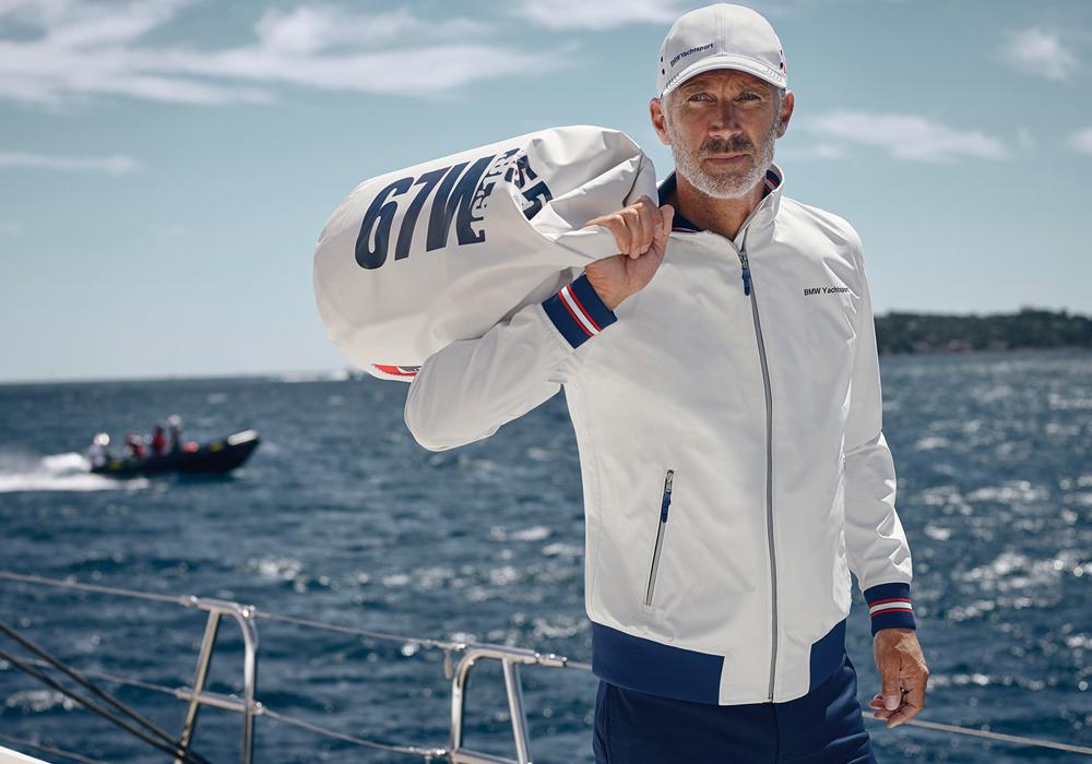 bmw yachtsport accessoires jacke jacken mode kleidung bekleidung herren damen sport