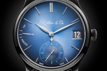 h. moser & cie. uhr uhren uhrenmodelle luxusuhren schweiz schweizer limitiert herrenuhr titan