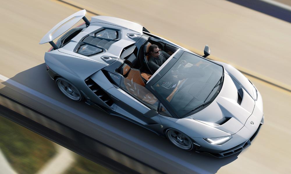 lamborghini centenario roadster limitiert limitierte modelle fahrzeuge preis video carbon