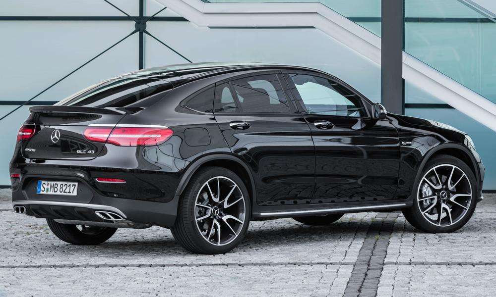 mercedes amg glc 43 4matic coupé modell modelle neu neuheiten neue suv