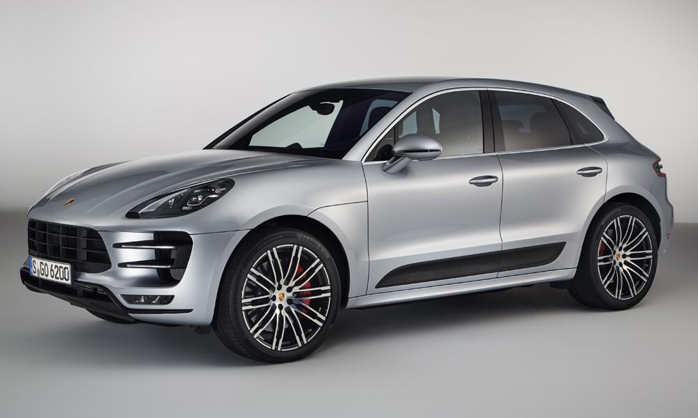 porsche macan turbo sportpaket suv topmodell fahrleistungen ausstattung leistung spitzenmodell
