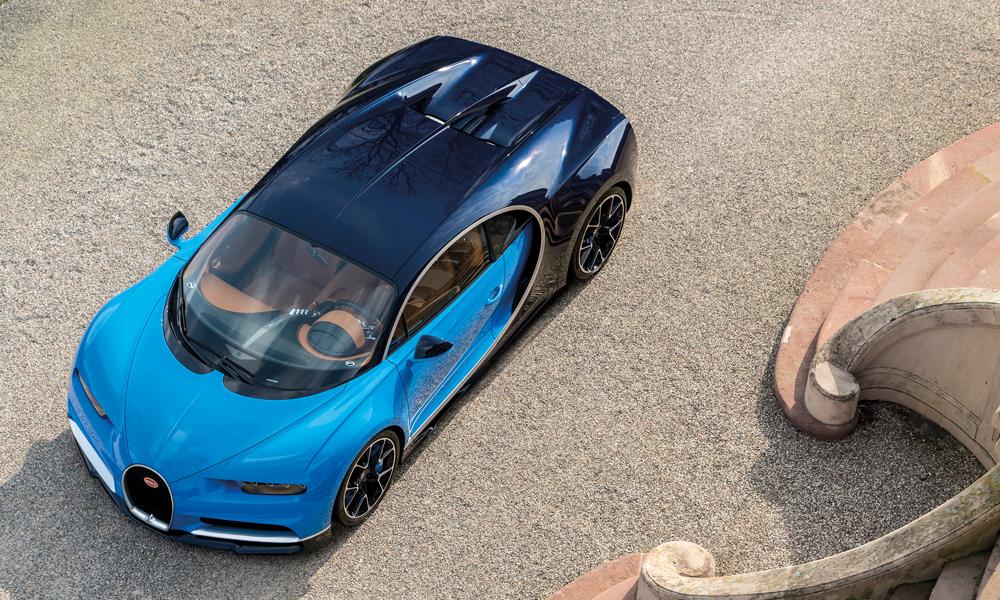 bugatti chiron sportwagen modell modelle supersportwagen technik