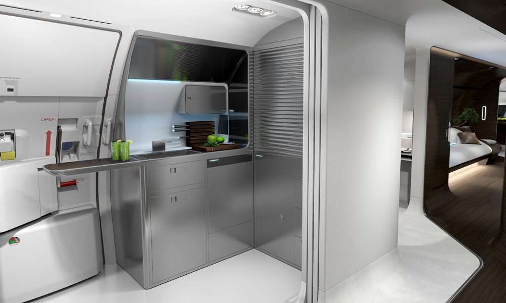 flugzeug lufthansa flugzeugkabine innenraum interieur design luxus einrichtung privatflugzeug. Black Bedroom Furniture Sets. Home Design Ideas