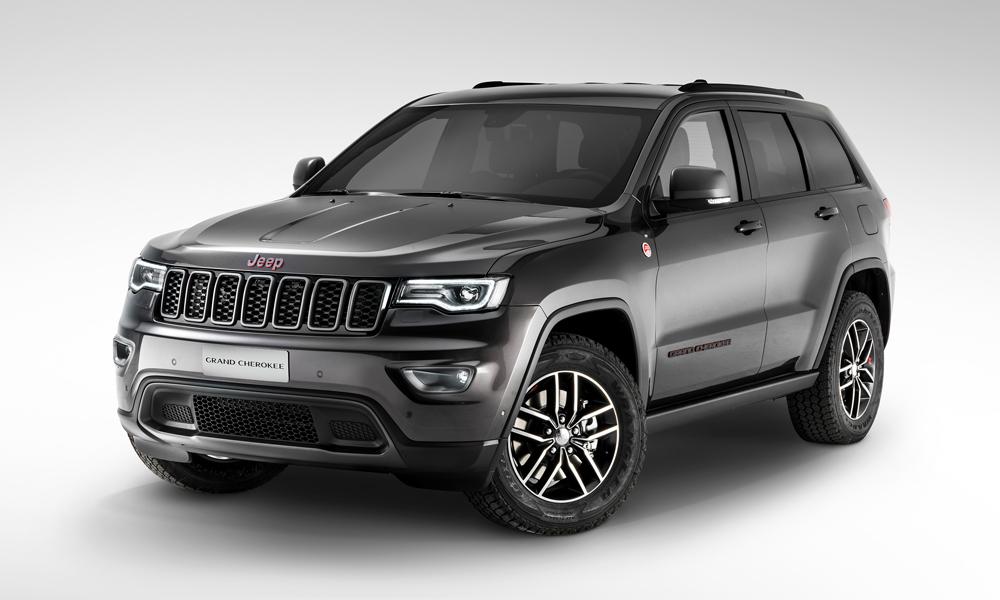 jeep modelle jahrgang 2017 modelljahr modelljahr-2017 4x4 offroad suv geländewagen neuheit neuheiten version modellpalette premium jeep-grand-cherokee-trail-hawk