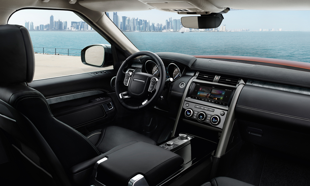 land rover discovery suv geländewagen 4x4 neue modelle technik gewicht leistung interieur innenraum