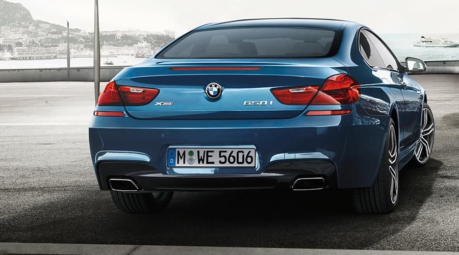 bmw 6 gran coupe oberklasse modelle modell sonderausstattungen sportwagen sportpaket