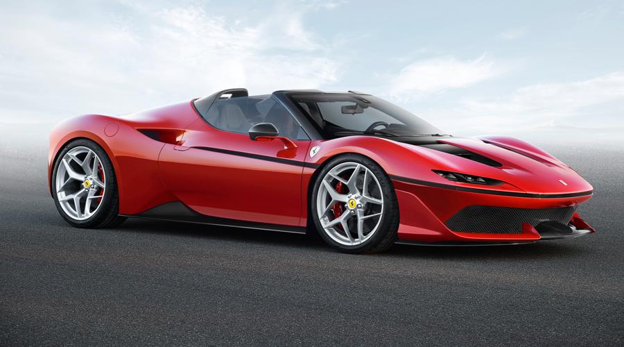 ferrari j50 zweisitzer roadster modell modelle sportwagen limitiert
