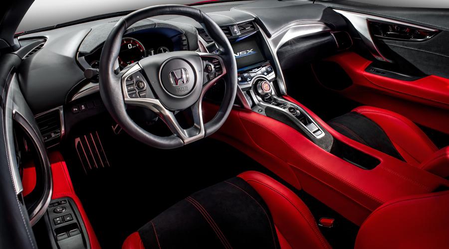 honda nsx honda-nsx sportwagen modell modelle neuheiten neuheit 2017 interieur innenraum
