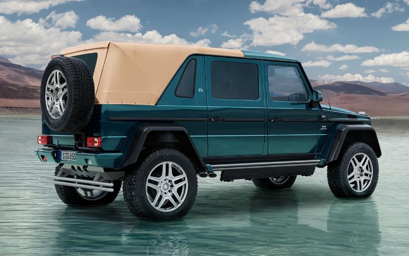 mercedes-maybach amg g-klasse geländewagen luxus offroad limitiert g-650 landaulet suv