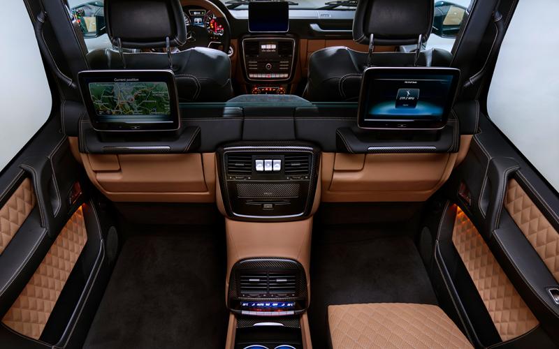 mercedes-maybach amg g-klasse geländewagen luxus offroad limitiert g-650 landaulet s-klasse innenraum