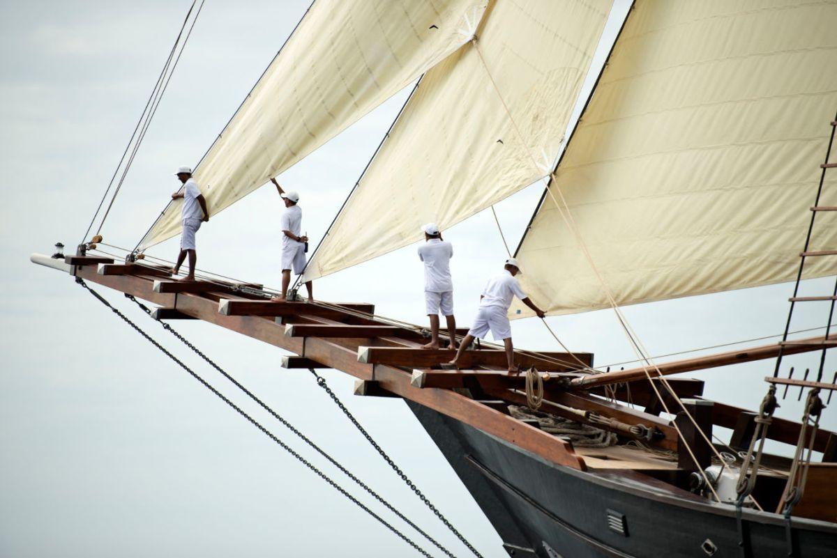 Das Segelschiff Amandira