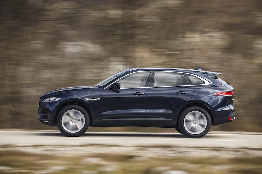 jaguar f-pace modelle 2018 neuheiten suv offroad motoren