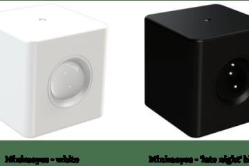 Minimeyes gibt es in einer weißen und einer schwarzen Ausführung. Foto: minimeyes