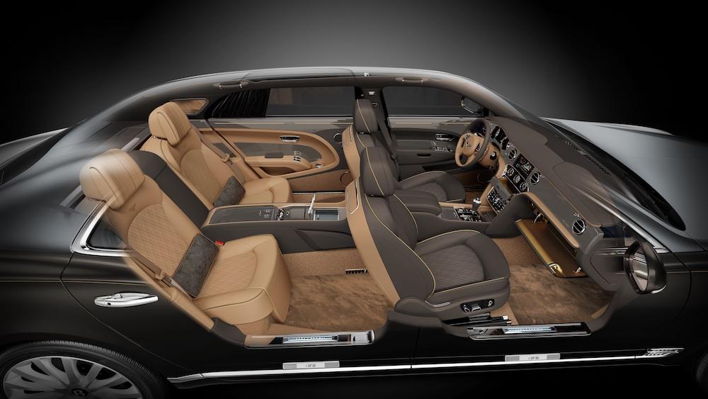 bentley mulsanne cars models limited series inside