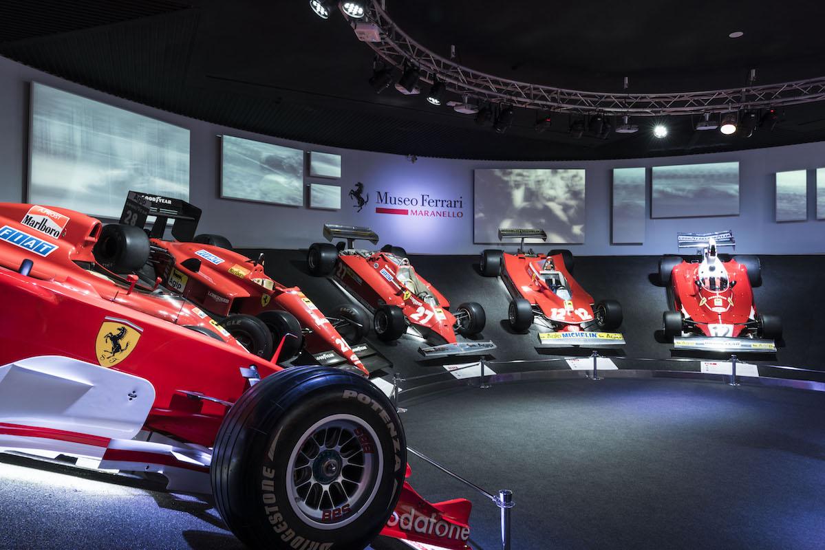 ferrari museum maranello exhibitions cars