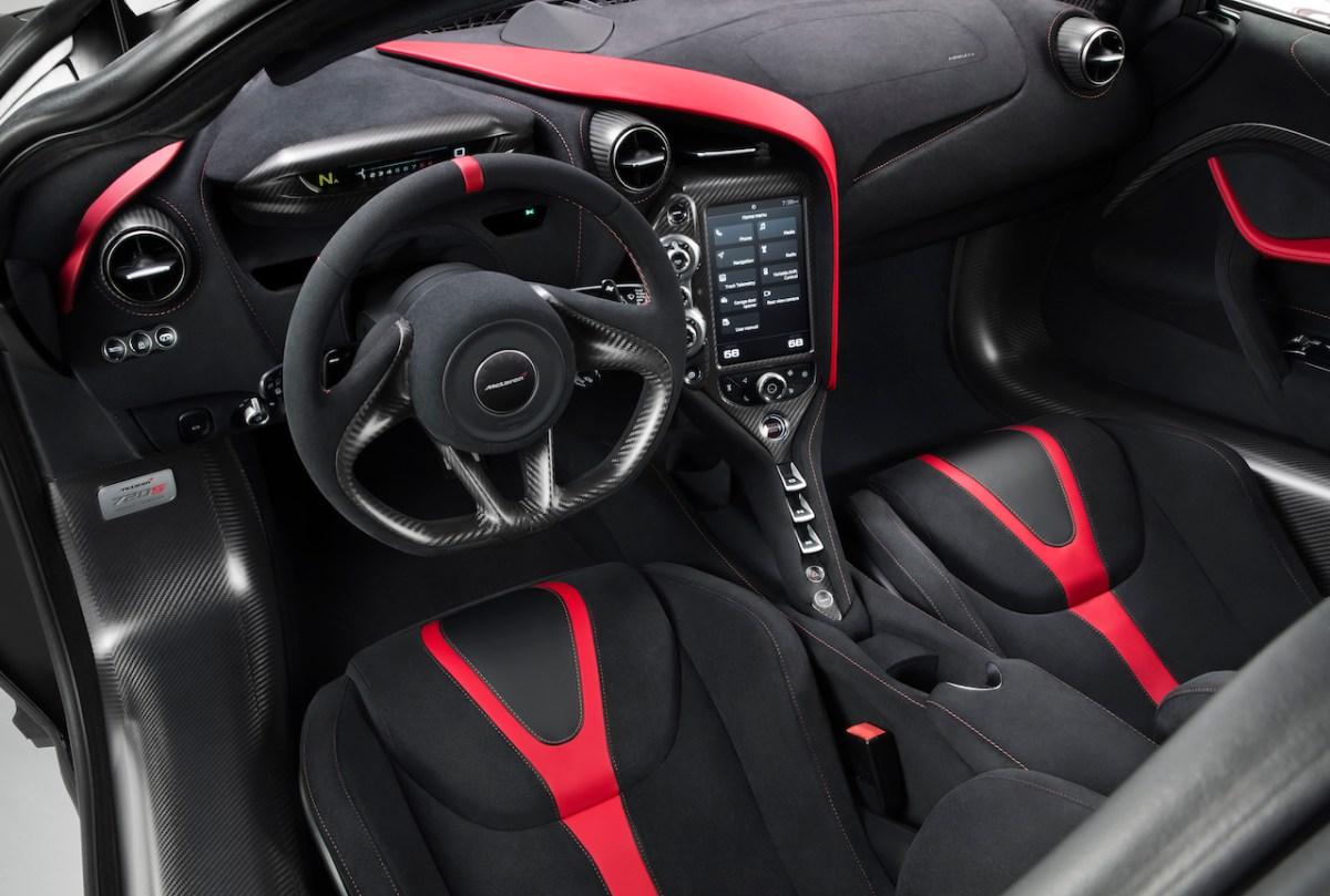mclaren 720s super-series velocity mso modell neuheiten autosalon genf 2017 automobil interieur