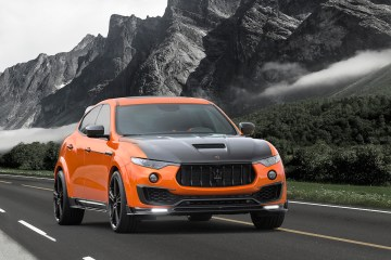 mansory maserati levante luxury suv widebody