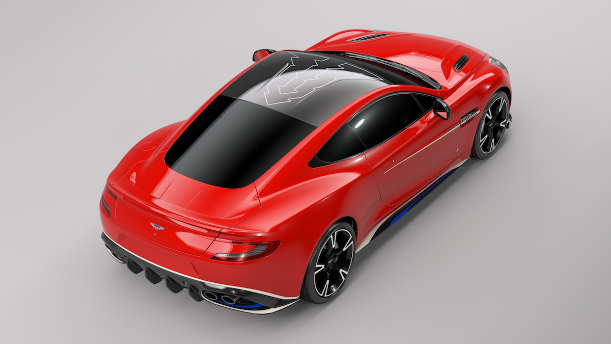 aston martin vanquish s red arrows limited edition bespoke