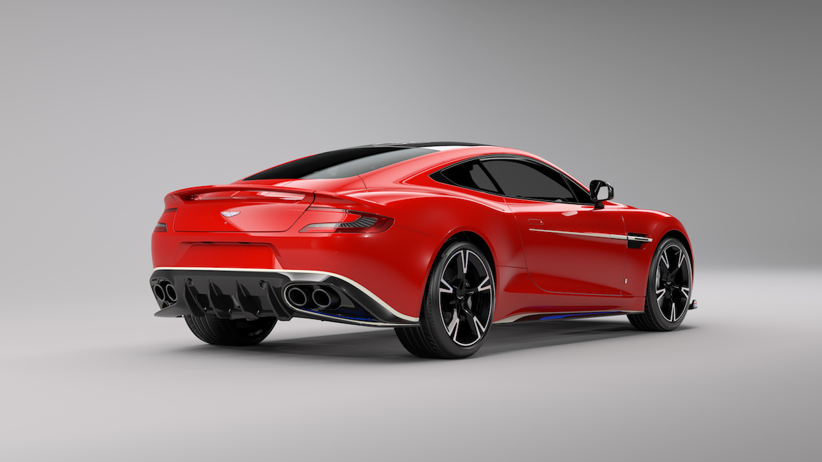 aston martin vanquish s red arrows limited edition carbon