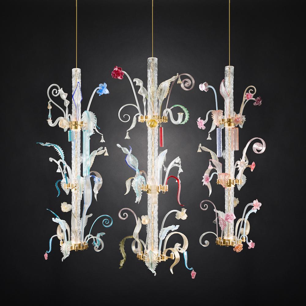 veronese lighting new design french-design french conemporary murano glass designer