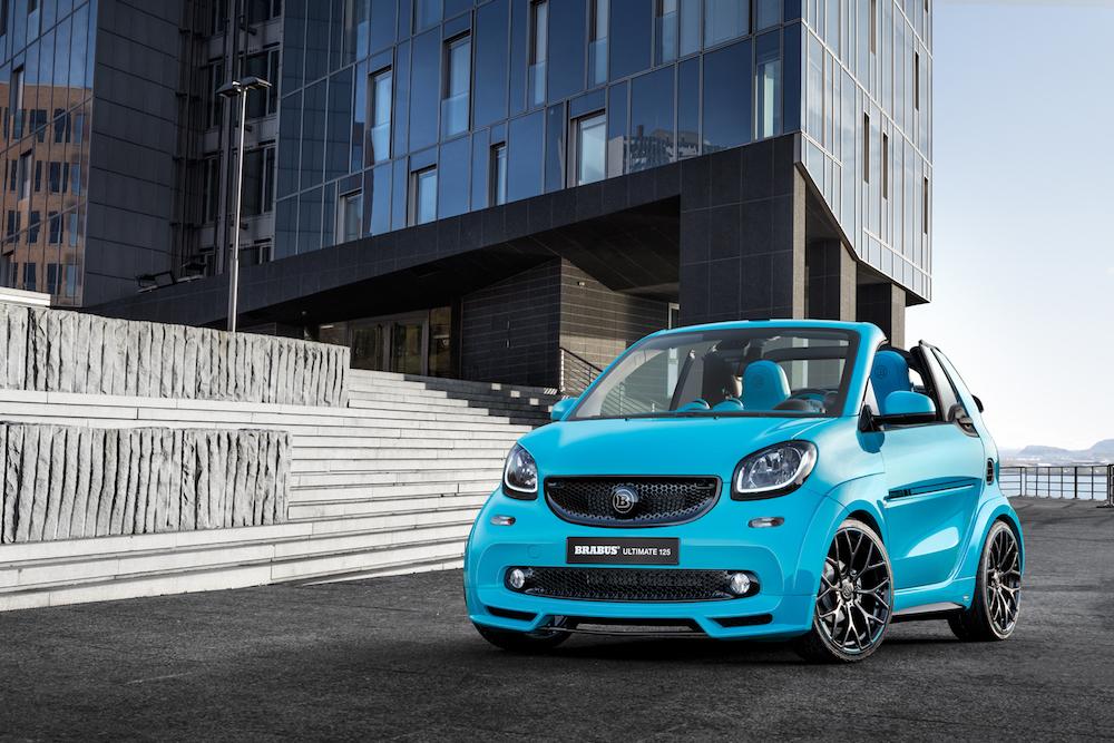 brabus ultimate 125 smart fortwo cabrio limited edition