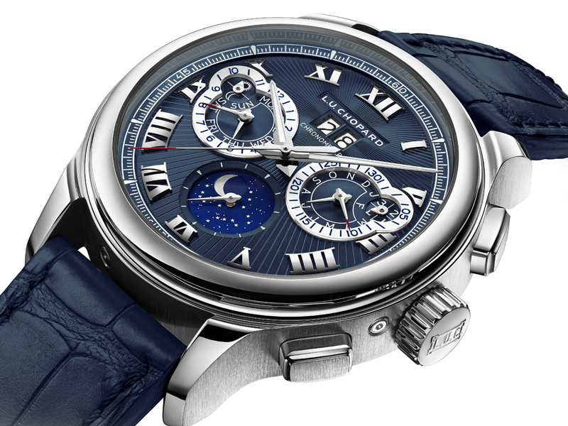 chopard watches men platinum chronograph limited
