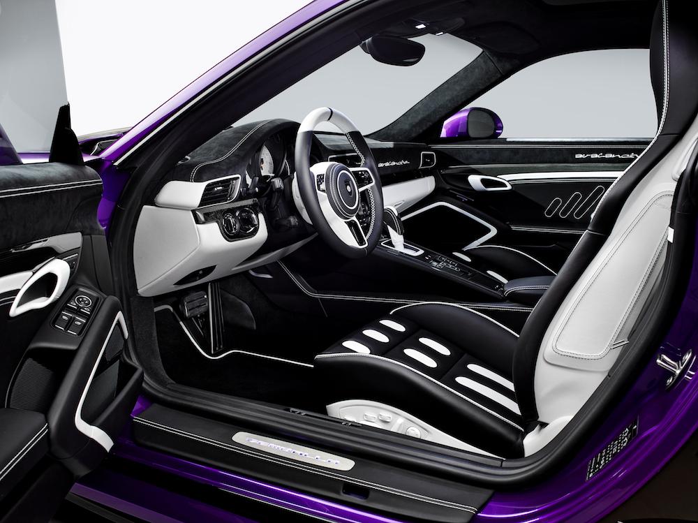 gemballa gemballa-avalanche porsche 911 turbo sportwagen modell innenraum