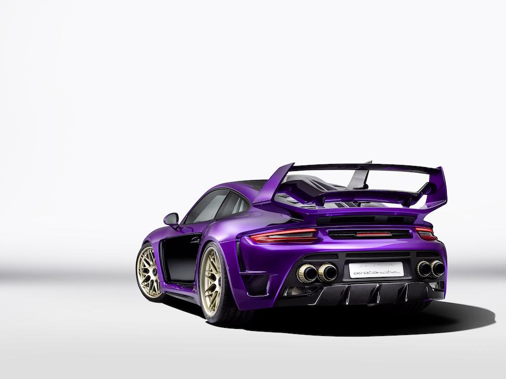 gemballa gemballa-avalanche porsche 911 turbo sportwagen modell tuning