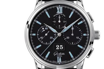 glashütte original chronograph models red gold stainless steel platinum watches